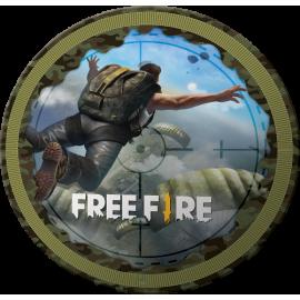 PRATO REDONDO FREE FIRE 8 UN.