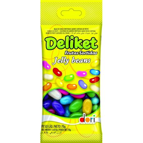 DELIKET FRUTAS SORTIDAS 70GR
