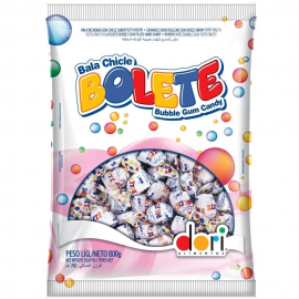 BALAS CHICLE BOLETE T.FRUTTI (600GR)