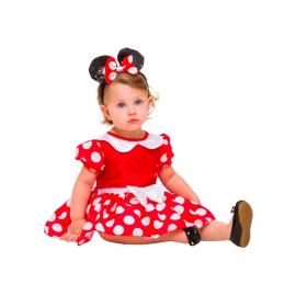 FANTASIA MINNIE VERMELHA BABY