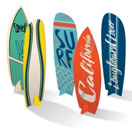 ENFEITE DE MESA SURF C/4