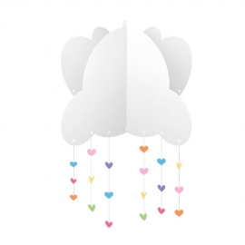KIT DECORATIVO CHUVA DE AMOR C/1
